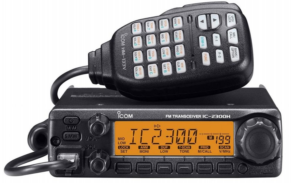 ICOM RÁDIO VHF IC-2300H BASE