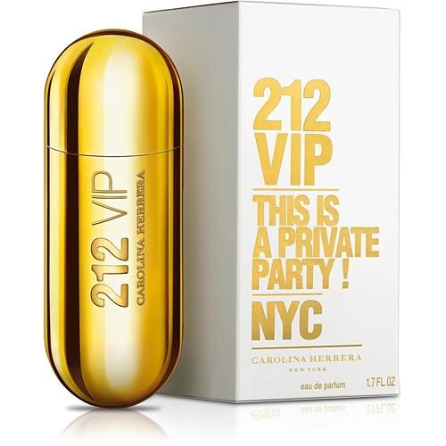 Perfume Carolina Herrera 212 Sexy Men Vip Feminino 80Ml