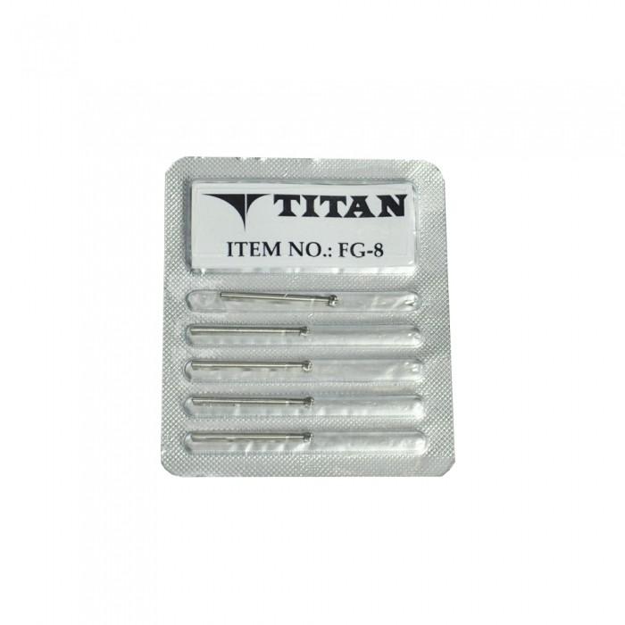 Dental Cirugica FG-8 25mm 5/Blister