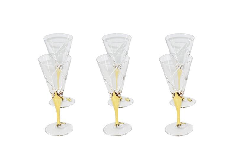 Conjunto Canba Holiday Para Vinho 6 Taças