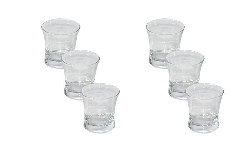 Conjunto Enesco Bordur Para Whisky 6 Copos