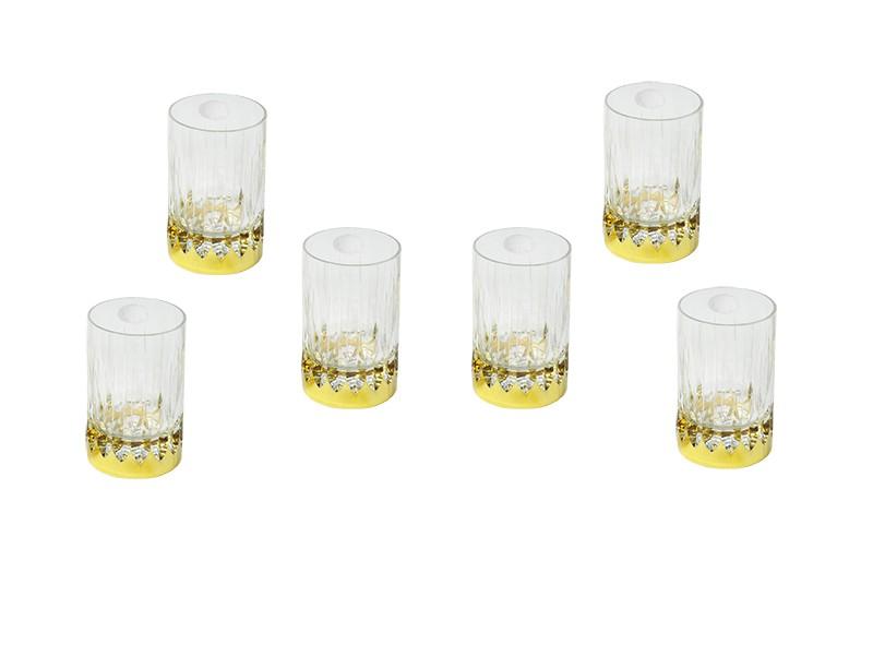 Conjunto Canba Atlanta Para Whisky 6 Copos