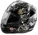 ARAI CAPACETE CORSAIR V FICTION BLACK 59-60 L