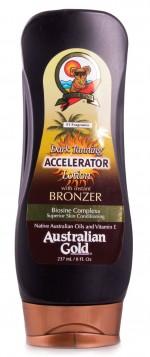 Loção de Bronzeador Australian Gold Dark Tanning Accelerator 237ml