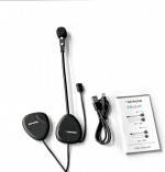 NETPHONE INTERCOM MOTOCICLETA VR V1-2 BLUETOOTH