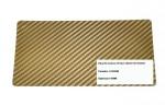 Adesivo Fibra De Carbono 3d Moldável Tipo Di-noc Texturizado Modelo B-8 Dourado