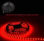 Fita Flexível com 300 LEDs na cor Vermelha, rolo de 5m