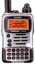 YAESU RADIO V/UHF/50 VX-7R