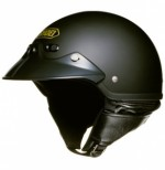 SHOEI CAPACETE SANTA CRUZ MATTE BLACK M 57 - 58