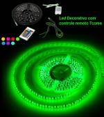 Fita Flexível com 300 LEDs com 7 cores, rolo de 5m