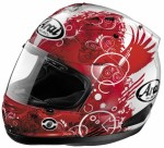 ARAI CAPACETE CORSAIR V FICTION RED 61-62 XL