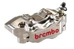 BREMBO CALIPER KIT HPK NICKEL FINISH RADIAL - (220A80210)