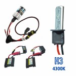 VOYAGER KIT XENON HID3 DC COR 4300K 12V 35W