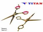 TITAN TESOURA GOLD TT-1035