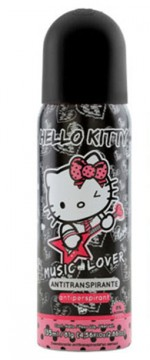 DESODORANTE. HELLO KITTY MUSIC LOVE